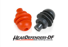 HearDefenders-DF™ Dual Filtered Earplugs